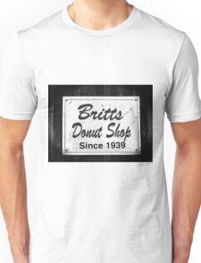 Britt's Donut Shop Sign 2 Unisex T-Shirt