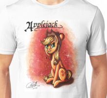 MLP: Applejack (Character Portrait Series)  Unisex T-Shirt
