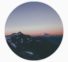 Mountain Sunset Kids Tee