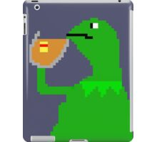 None of My Business Meme Pixel Art Frog iPad Case/Skin