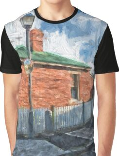 Red Brick House in Hobart Graphic T-Shirt