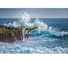 Exploding Surf Photographic Print