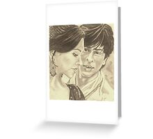 Om Shanti Om Greeting Card