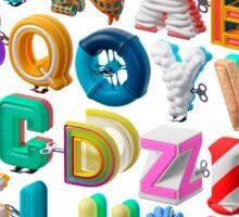 The Alphabet is your Playground Sticker