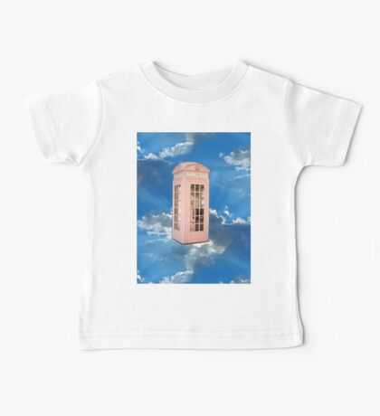 pink phone booth Baby Tee