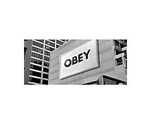 They Live - Obey Photographic Print