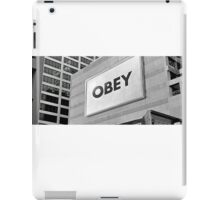 They Live - Obey iPad Case/Skin