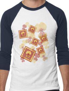 Pea Flower 1 Men's Baseball ¾ T-Shirt