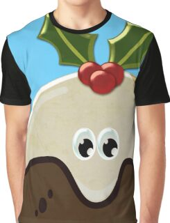 Christmas pudding Graphic T-Shirt