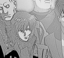 Ghost in the Shell Crew - Engraved Style Sticker