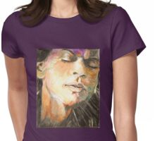 Dilwale Emotion-King Khan Shtyle Womens Fitted T-Shirt