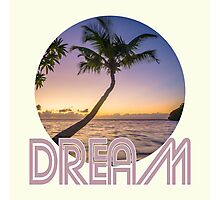 Dream a Groovy Dream Photographic Print