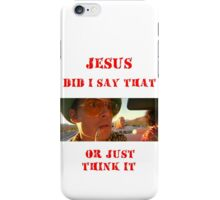 Fear and Loathing - a ride in bat country iPhone Case/Skin