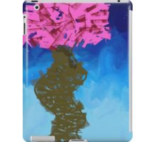 Nature Abstract Expressionist Graffiti Cherry Blossom Tree iPad Case/Skin