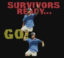Survivors Ready... Go! One Piece - Short Sleeve
