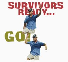 Survivors Ready... Go! Kids Tee