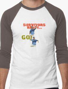 Survivors Ready... Go! Men's Baseball ¾ T-Shirt