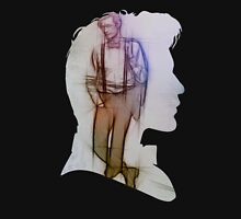 The Eleventh Doctor Silhouette with pencil sketch Unisex T-Shirt