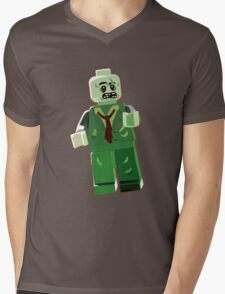 Zombie Mens V-Neck T-Shirt