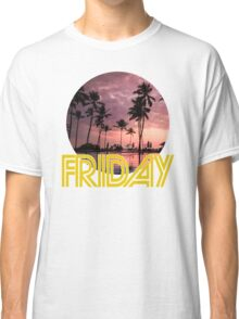 Friday Every Day of the Week Classic T-Shirt