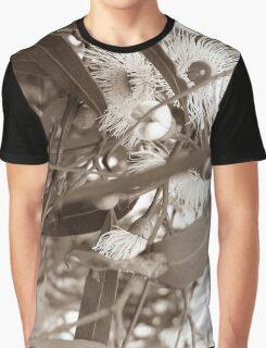 Sepia Eucalyptus Graphic T-Shirt