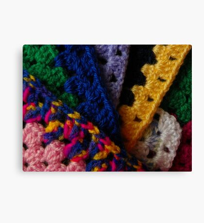 Knit One Canvas Print