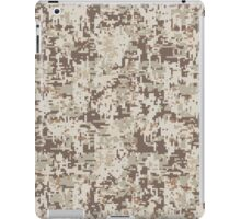 Desert Digital Camouflage Style Decor iPad Case/Skin
