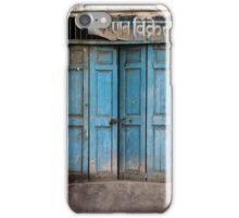 Rajasthan Door #4 iPhone Case/Skin