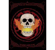 Valar Morghulis - Targaryen Photographic Print