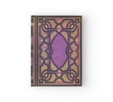 Purple and Gold Vines Book Hardcover Journal