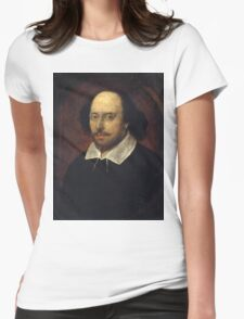 William Shakespeare Womens Fitted T-Shirt