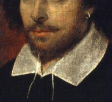 William Shakespeare Sticker
