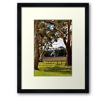 Australian Lutheran Church Framed Print