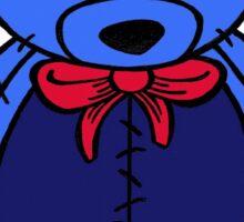 blue ted Sticker
