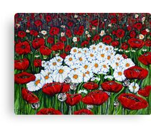 Rubies And Pearls Canvas Print