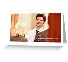 ben wyatt - pluto Greeting Card