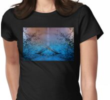 Lady of the Lake holds the Chalice Womens Fitted T-Shirt