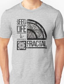 Sacred Geometry-The Seed od life-FRACTAL T-Shirt