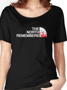 THE NORTH REMEMBERS North Face GOT Women's Relaxed Fit T-Shirt