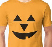 Happy Face Pumpkin Unisex T-Shirt