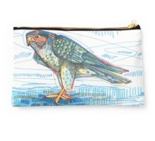 Peregrine falcon drawing - 2015 Studio Pouch