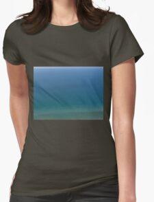 Lake Michigan Blue Womens Fitted T-Shirt