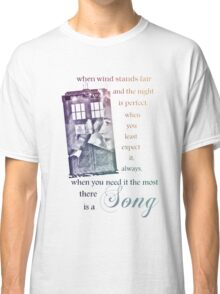There is a Song, Doctor Who, Husbands of River Song Classic T-Shirt