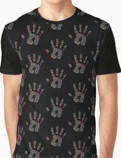 Hand Print - Spectrum Graphic T-Shirt