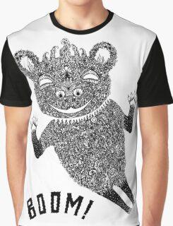 Boom Bear Graphic T-Shirt