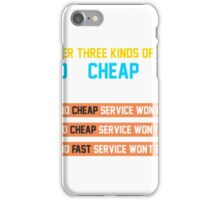 Service iPhone Case/Skin