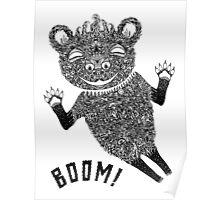 Boom Bear Poster
