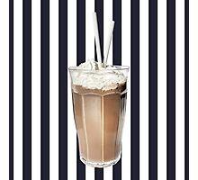 Stripes 'N' Slurps Photographic Print