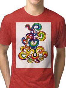 Psychedelic Smoke Tri-blend T-Shirt
