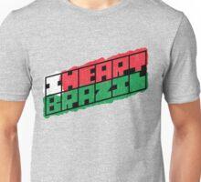 I Heart Brazil Square Unisex T-Shirt